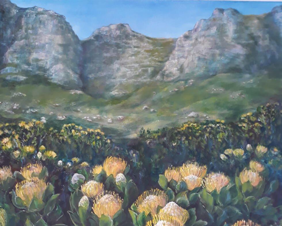 Artist Saniki Wessels